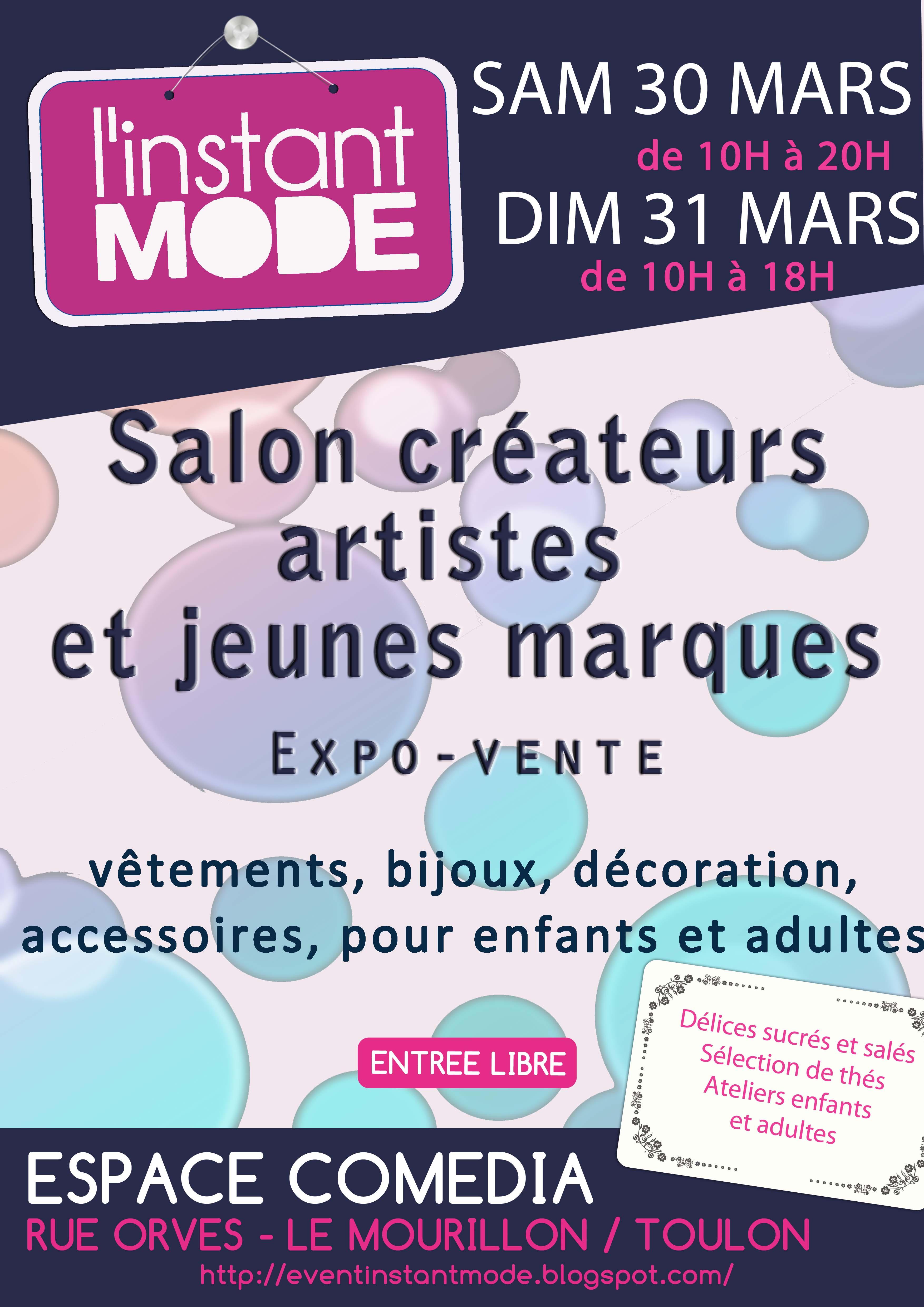 SALON CRÉATEURS L'INSTANT MODE #3 TOULON