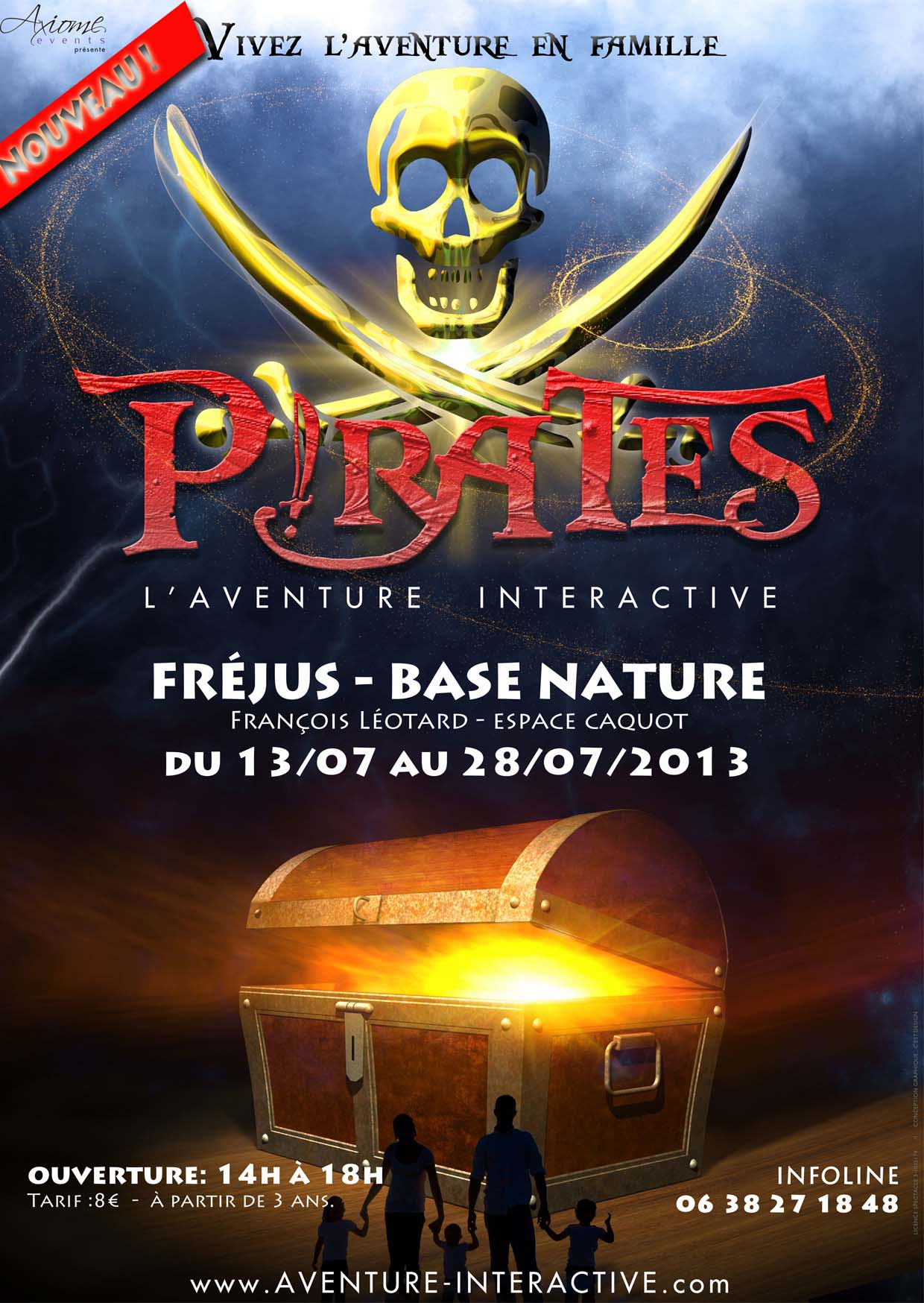 PIRATES, L'AVENTURE INTERACTIVE FRÉJUS