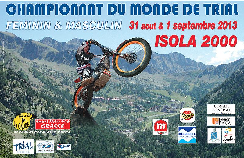 CHAMPIONNAT DU MONDE DE TRIAL Actualité Isola 2000