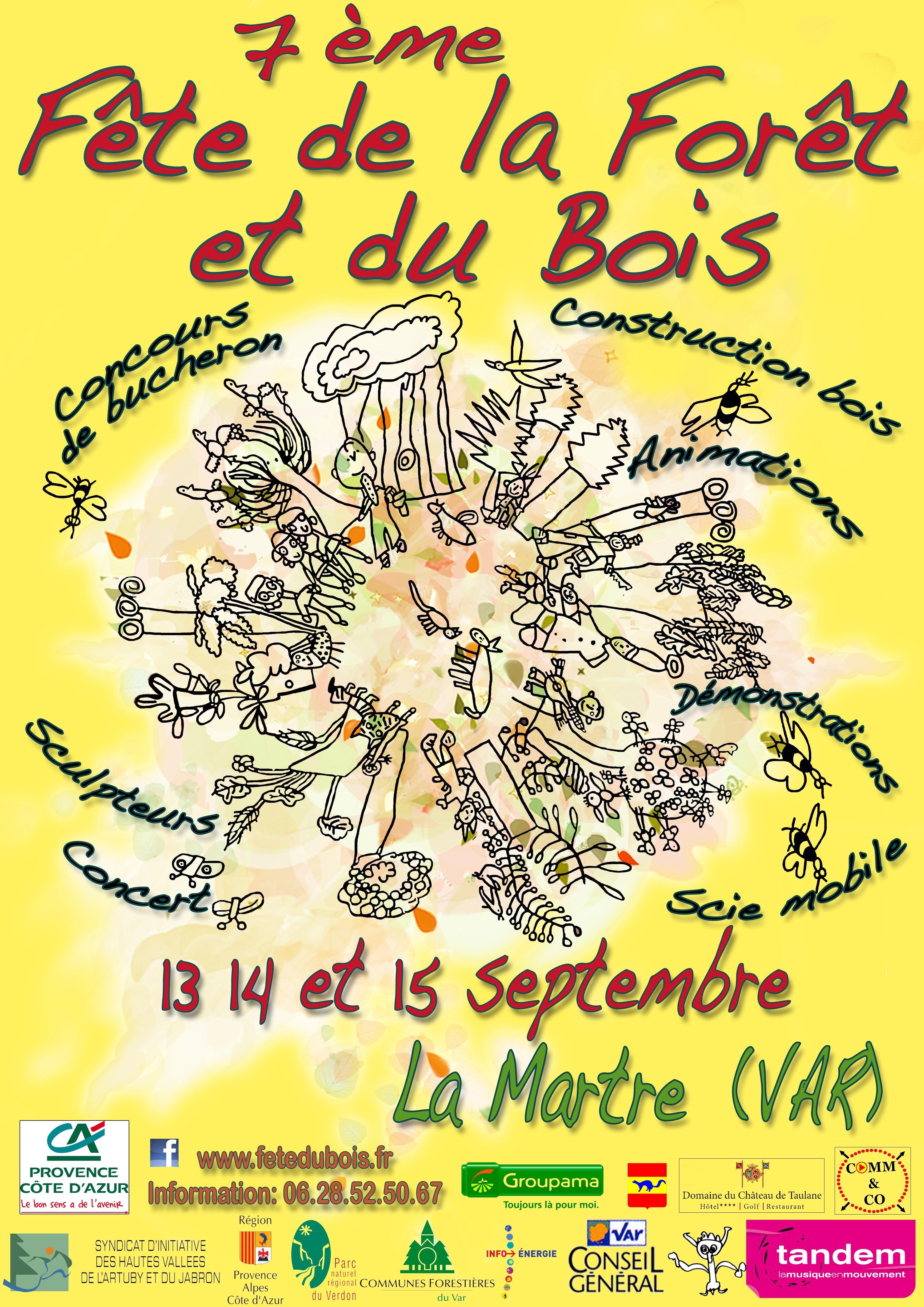 7ème Fête de la Forêt et du Bois Actualité La Martre
