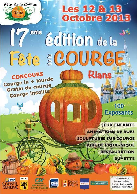 17ÈME ÉDITION DE LA FÊTE DE LA COURGE RIANS
