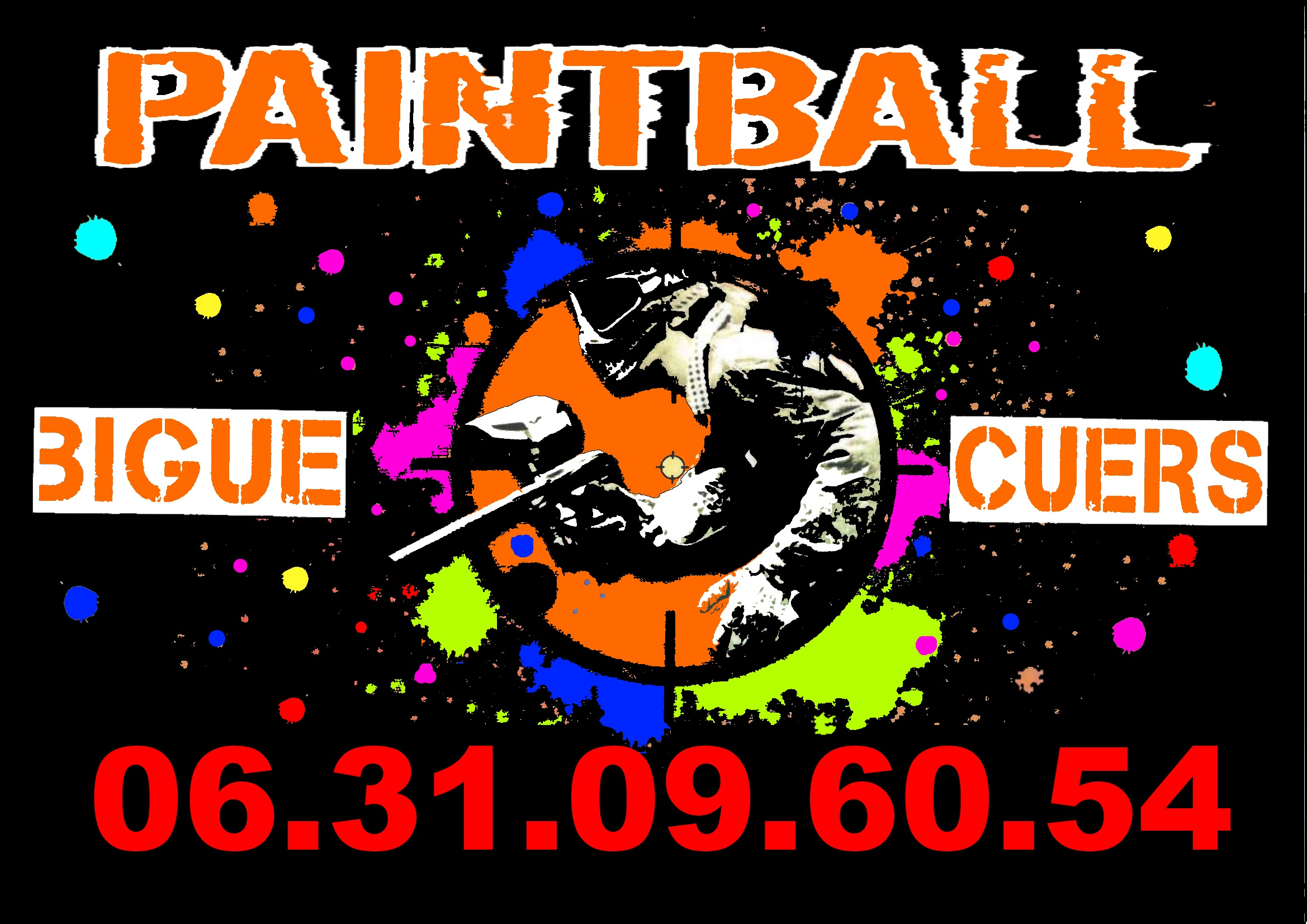 BIGUE PAINTBALL CUERS CUERS