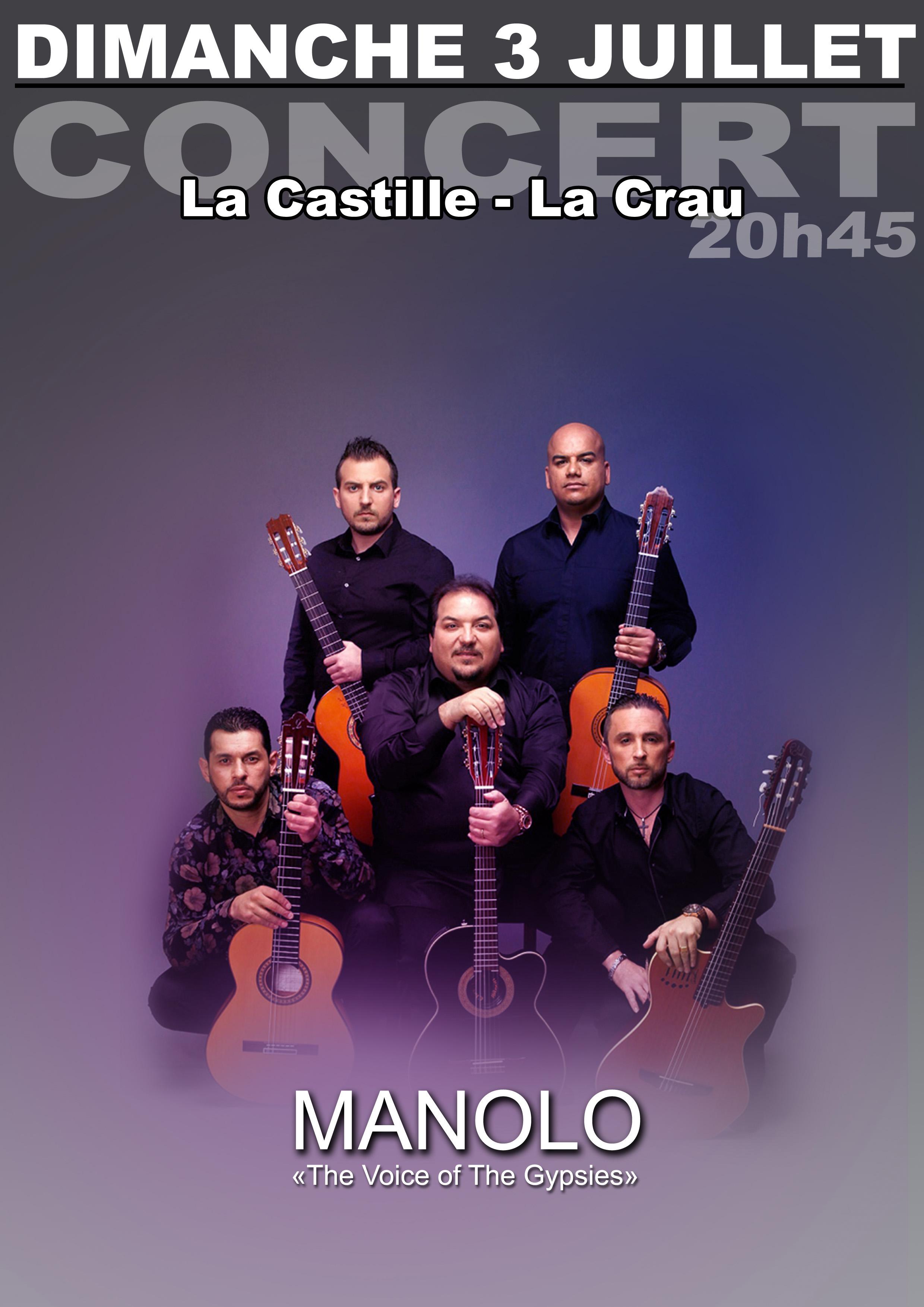 "MANOLO ""THE VOICE OF THE GYPSIES"" LA CRAU"