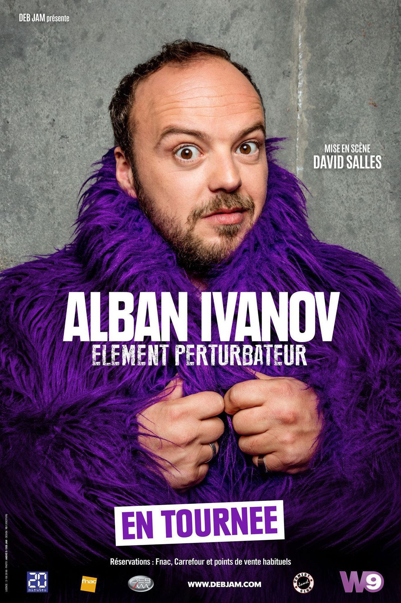 ALBAN IVANOV - ELÉMENT PERTURBATEUR TOULON