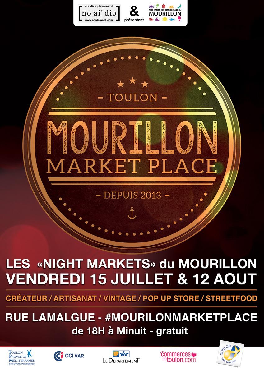 MOURILLON NIGHT MARKET TOULON