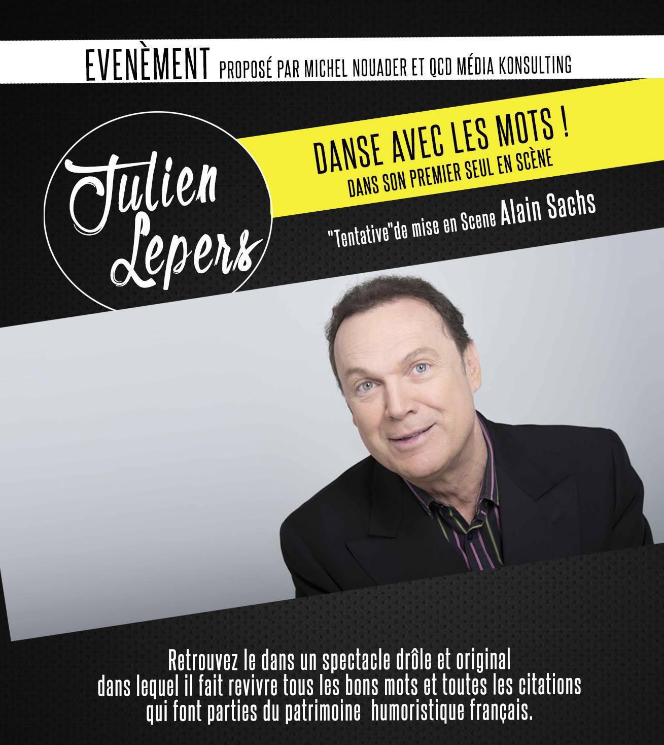 JULIEN LEPERS - DANSE AVEC LES MOTS TOULON