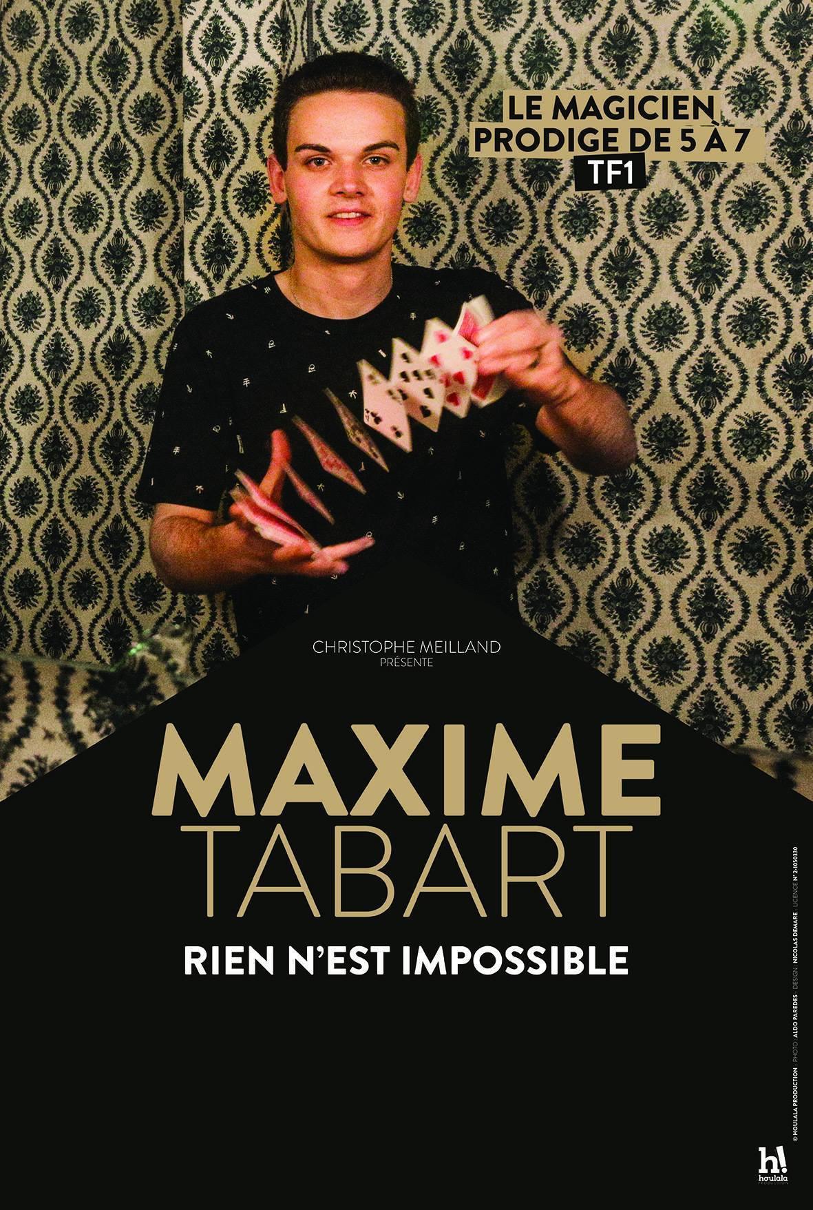 MAXIME TABART - RIEN N'EST IMPOSSIBLE TOULON