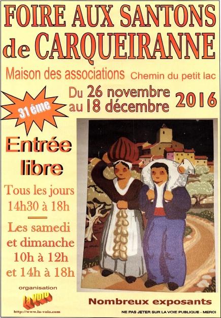 FOIRE SANTONS  CARQUEIRANNE