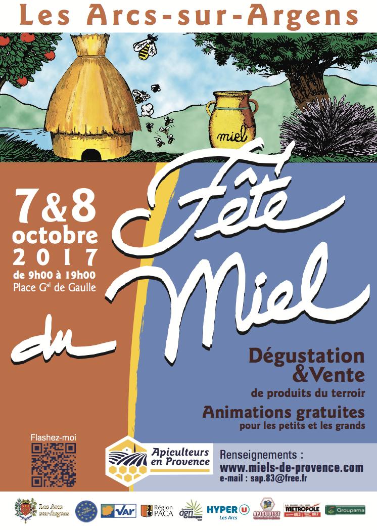 FÊTE DU MIEL AUX ARCS-SUR-ARGENS LES ARCS
