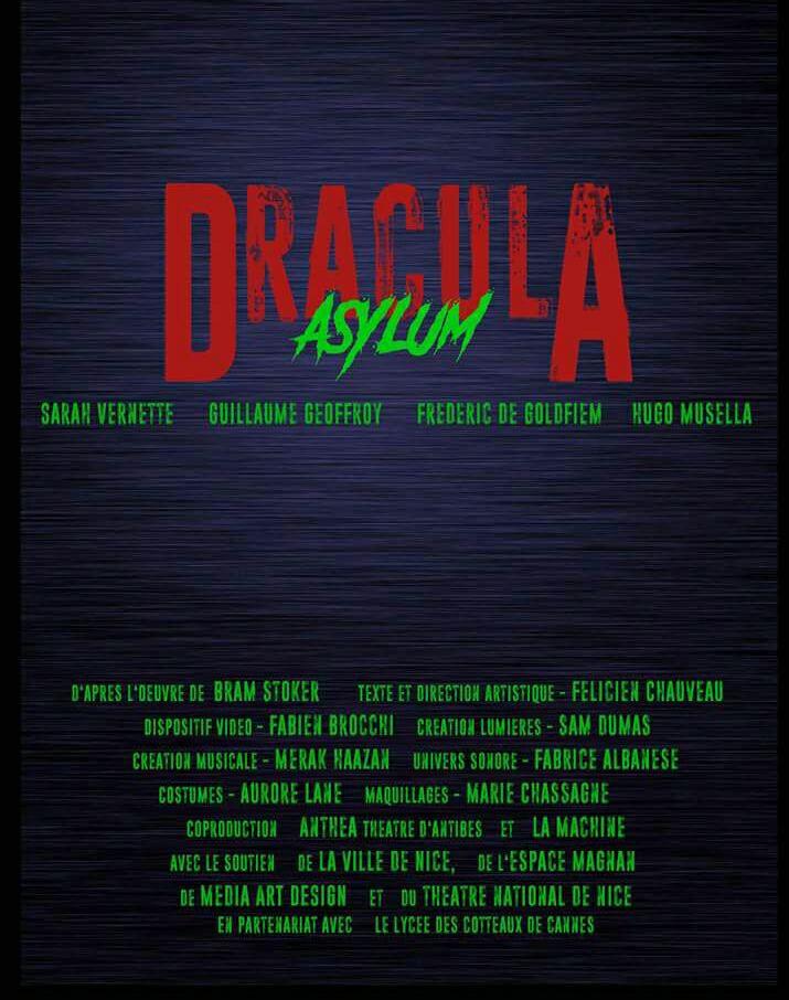 Dracula - Asylum Actualité Nice