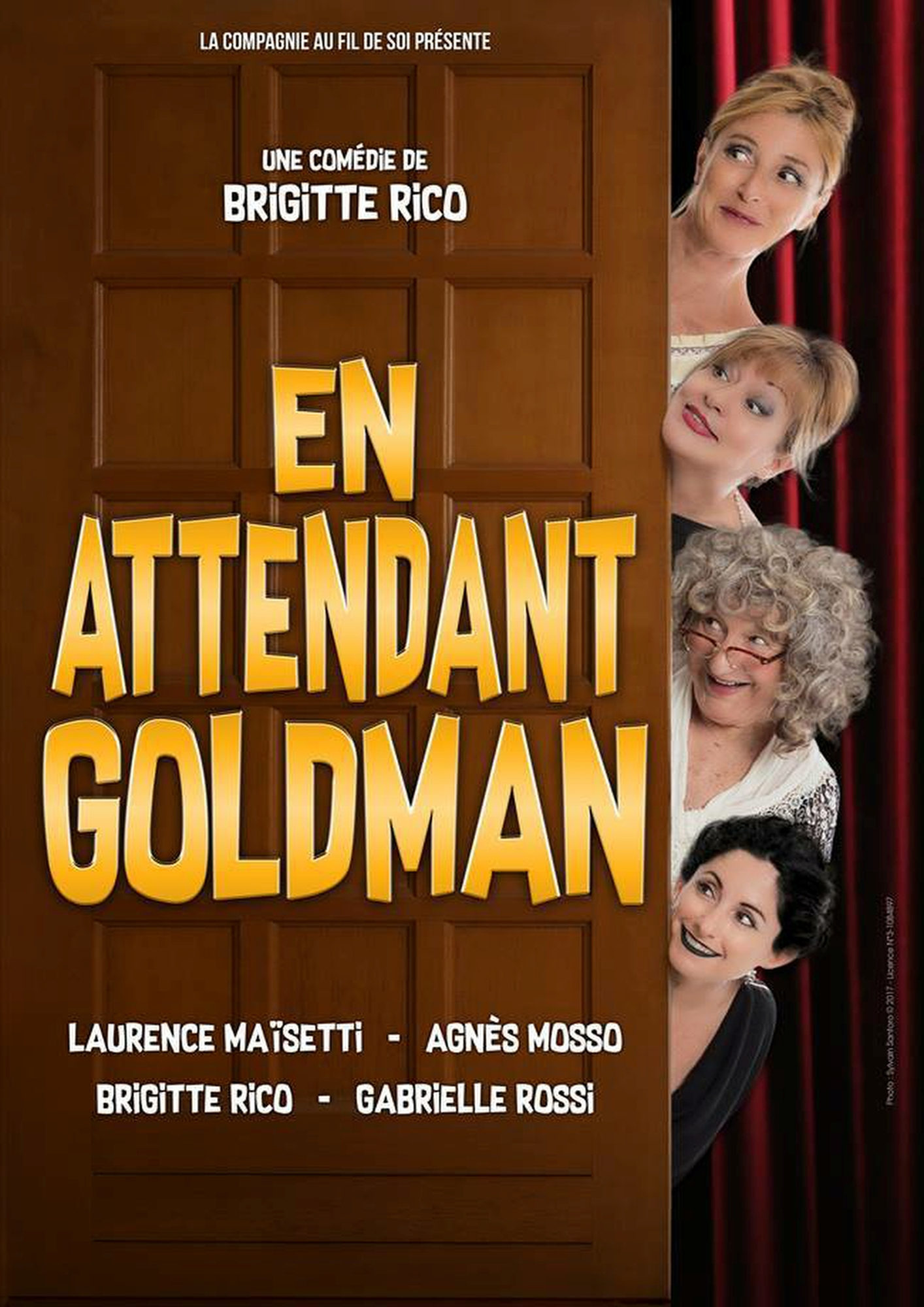 EN ATTENDANT GOLDMAN, DE BRIGITTE RICO NICE