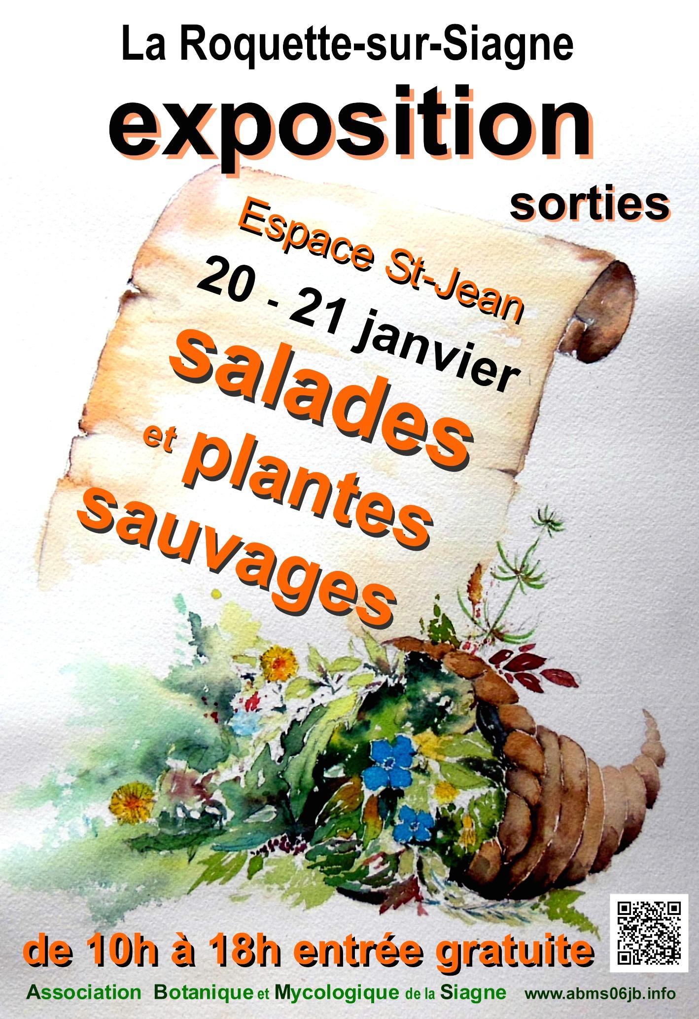 Exposition gratuite de salades sauvages la roquette sur for Garage ad la roquette sur siagne