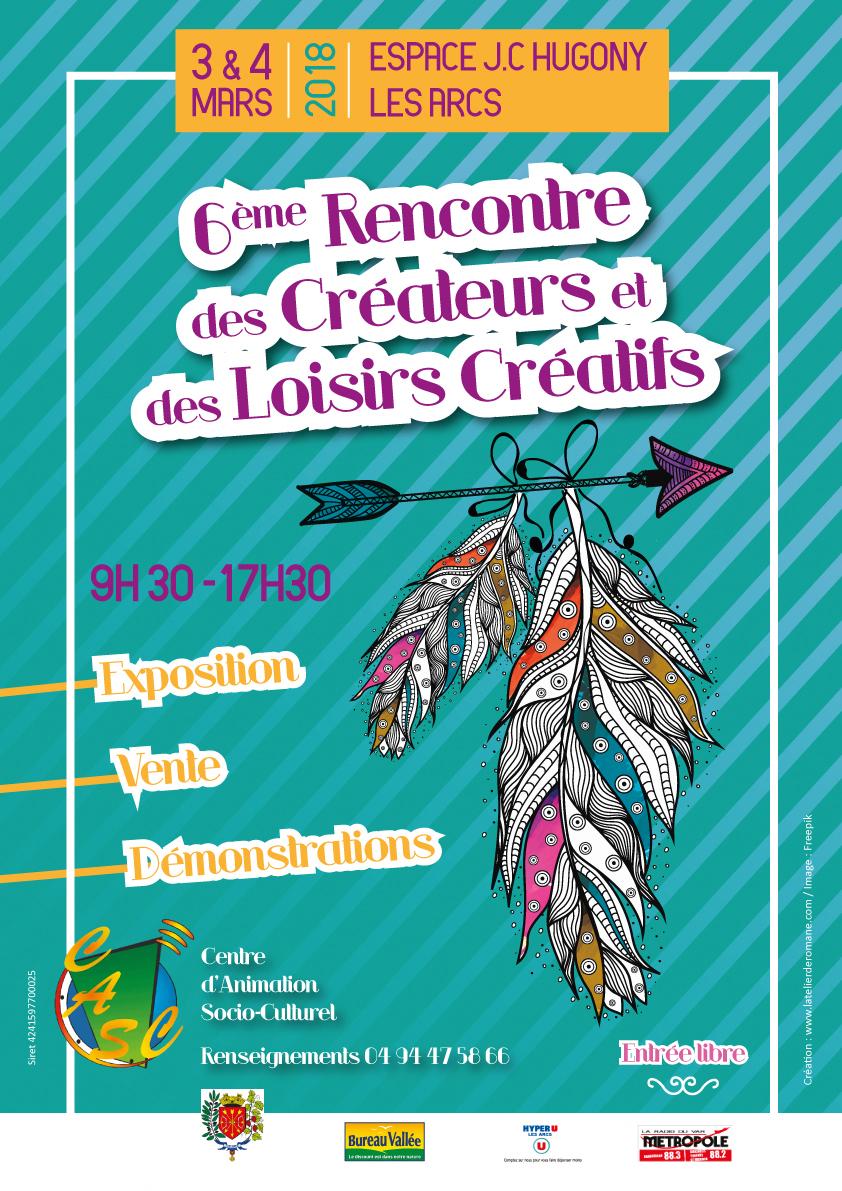 6ÈME RENCONTRE DES LOISIRS CRÉATIFS LES ARCS