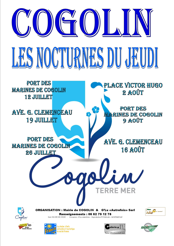 LES MARCHES NOCTURNES DE COGOLIN COGOLIN
