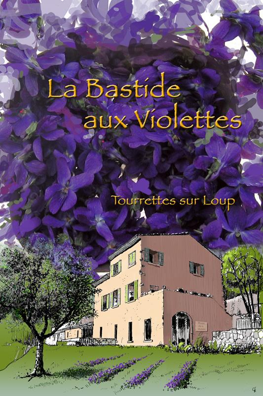 VISITE DE LA BASTIDE AUX VIOLETTES TOURRETTES SUR LOUP