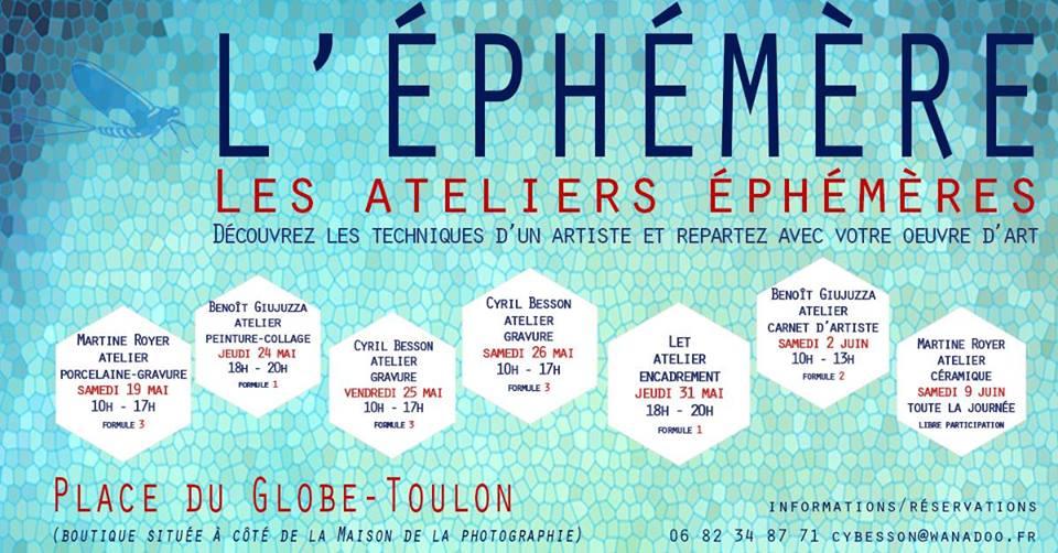 Les Ateliers Ephémères Actualité Toulon