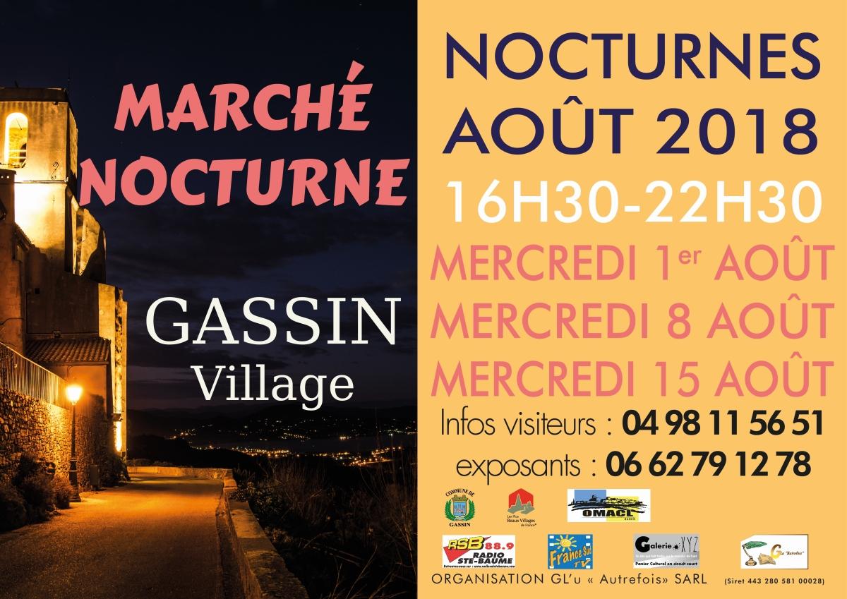 LES NOCTURNES DE GASSIN GASSIN