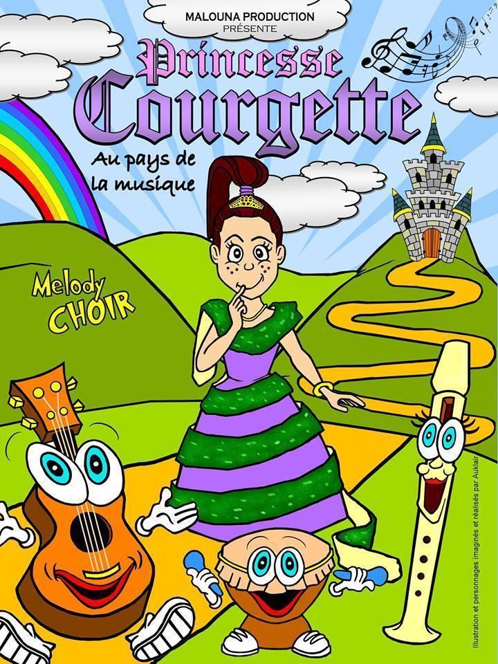 PRINCESSE COURGETTE AU PAYS DE LA MUSIQUE NICE