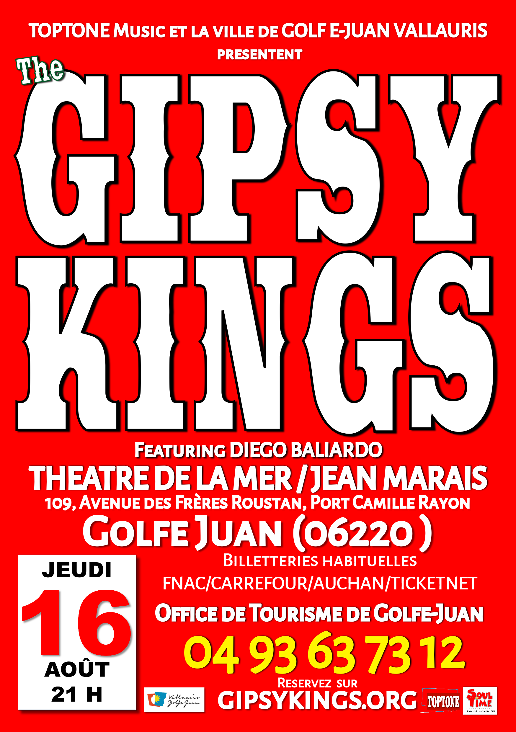 THE GIPSY KINGS CONCERT EXCEPTIONNEL VALLAURIS