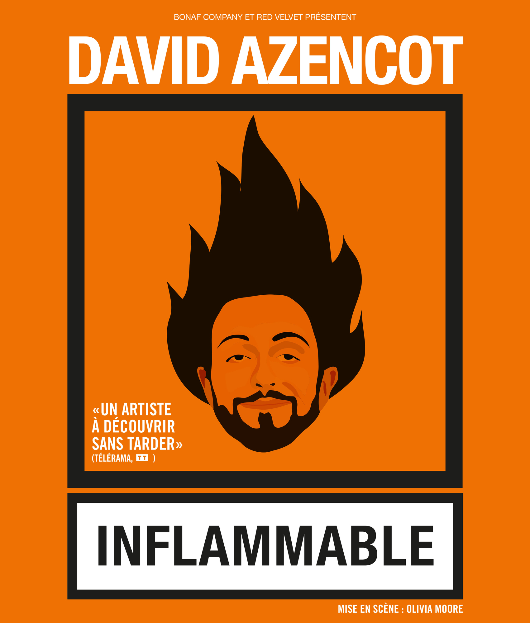 DAVID AZENCOT - INFLAMMABLE SIX FOURS LES PLAGES
