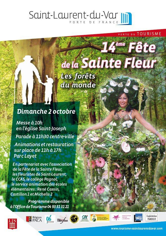 F te de la sainte fleur saint laurent du var le 02 10 - Office de tourisme saint laurent du var ...