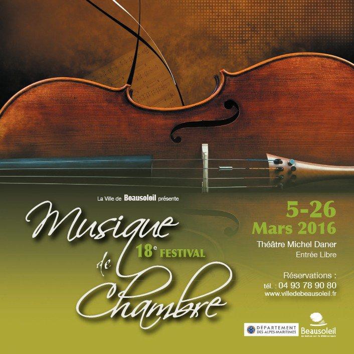 Festival de musique de chambre beausoleil actualit for Chambre de musique