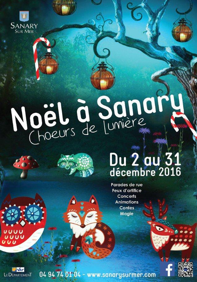 noel 2018 sanary Noël à Sanary, Choeurs de Lumière à Sanary sur mer : Actualité Fête noel 2018 sanary