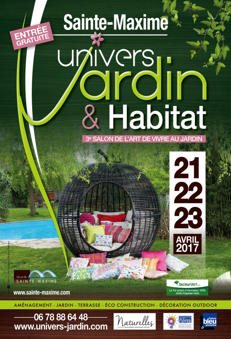 Univers jardin habitat sainte maxime actualit salon for Jardin habitat