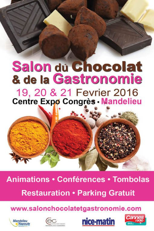 Salon du chocolat de la gastronomie mandelieu la napoule for Le salon de la gastronomie