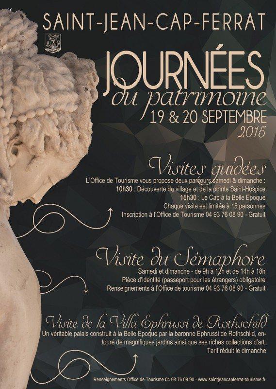 Journ es europ ennes du patrimoine saint jean cap ferrat - Office du tourisme saint jean cap ferrat ...