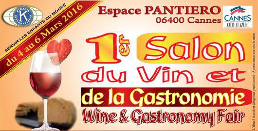 Salon du vin et de la gastronomie cannes actualit for Salon du vin nice