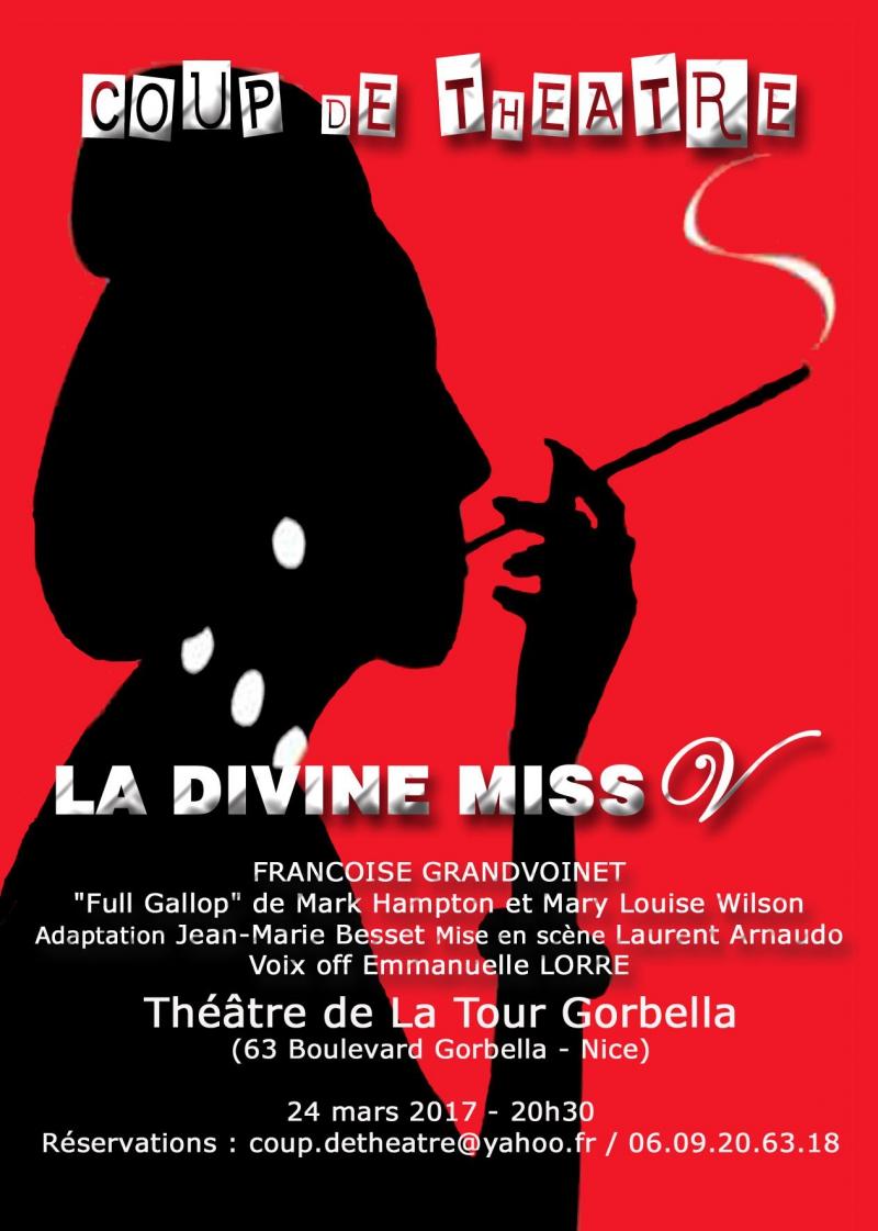 La Divine Miss V Nice Le 24 03 2017 Actualit Pice Joue