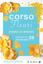 CORSO FLEURI À BORMES-LES-MIMOSAS BORMES LES MIMOSAS