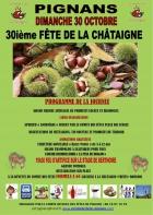 FÊTE DE LA CHÂTAIGNE PIGNANS