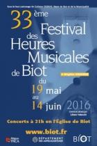 LES HEURES MUSICALES DE BIOT BIOT