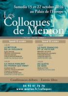 LES COLLOQUES DE MENTON « PENSER NOTRE TEMPS » MENTON