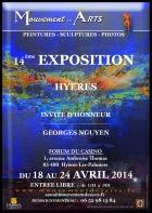 14ÈME EXPOSITION DU MOUVEMENT DES ARTS HYÈRES LES PALMIERS
