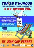TRAITS D'HUMOUR FESTIVAL DU DESSINS DE PRESSE, CARICATURE, D'HUMOUR SAINT JEAN CAP FERRAT