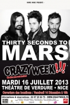 THIRTY SECONDS TO MARS @ CRAZY WEEK!!! NICE