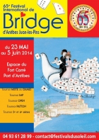 FESTIVAL INTERNATIONAL DE BRIDGE ANTIBES JUAN LES PINS