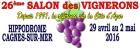 SALON DES VIGNERONS DE CAGNES-SUR-MER CAGNES SUR MER
