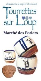MARCHÉ DES POTIERS TOURRETTES SUR LOUP