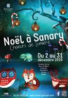 NOËL À SANARY, CHOEURS DE LUMIÈRE SANARY SUR MER