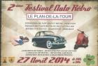 2ÉME  FESTIVAL AUTO RETRO LE PLAN DE LA TOUR