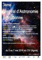 FESTIVAL D'ASTRONOMIE DE VALBONNE VALBONNE