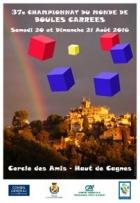37E CHAMPIONNAT DU MONDE DE BOULES CARRÉES CAGNES SUR MER