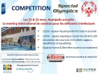 MEETING INTERNATIONAL DE NATATION SPECIAL OLYMPICS ÉDITION 2016 VALBONNE