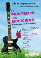 PRINTEMPS DES MUSICIENS CAGNES SUR MER