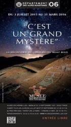 EXPOSITION « C�EST UN GRAND MYSTÈRE» TENDE