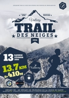 TRAIL DES NEIGES DE VALBERG VALBERG PEONE